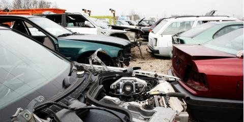 The Differences Between An Auto Salvage Yard Amp Metal Scrap