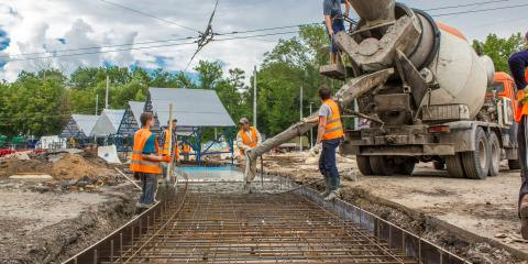 4 Advantages of Using Ready-Mix Concrete, Rushseba, Minnesota
