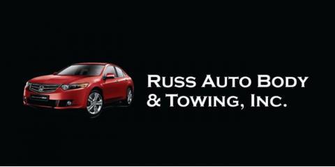 Russ Auto Body & Towing Inc, Auto Body, Services, Cincinnati, Ohio