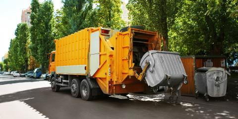 What Is a Front-Load Dumpster?, Russellville, Arkansas