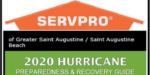 Hurricane Season 2020 SERVPRO Storm Damage Restoration, St. Augustine, Florida