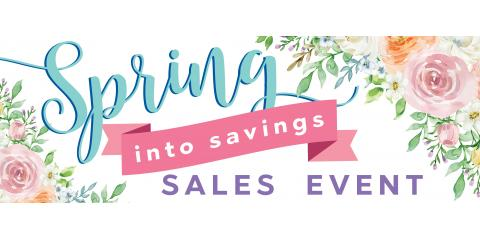 Spring Into Savings!, Brookfield, Connecticut