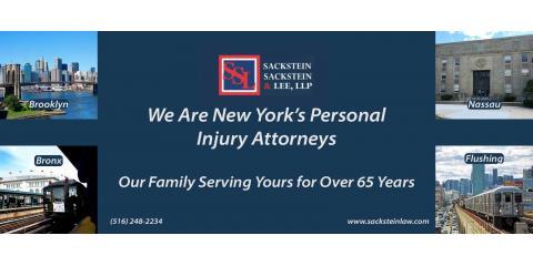 Sackstein, Sackstein & Lee, LLP, Personal Injury Attorneys, Services, Flushing, New York
