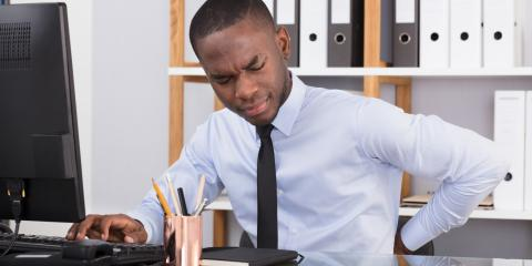 The Relationship Between Back Pain & Your Desk Job, Lemay, Missouri