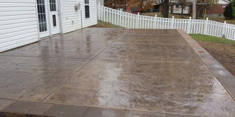 3 Fun Stamped Concrete Patterns to Consider for Your Patio, Gravois, Missouri