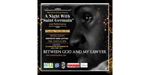 "The Kewl Kids & Dj Scripz Presents ""A Night With Saint Germain"", Manhattan, New York"