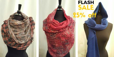 (25% Off Sale) Scarves are the Perfect Spring Accessory, Brooklyn, New York