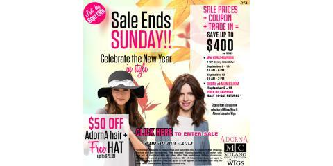 Don't miss!! $400 Savings on Hair + Free AdornA Hat , Brooklyn, New York