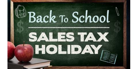 Tax-Free Saturday - TODAY - on all Purchases at Experimac Middleton!, Middleton, Massachusetts