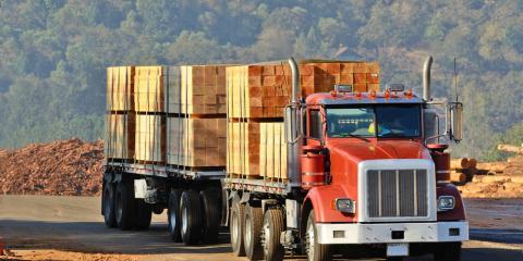 Heavy-Duty Truck Company Offers Mulch, Lumber & Salt Hauling During Winter, Madeira, Ohio