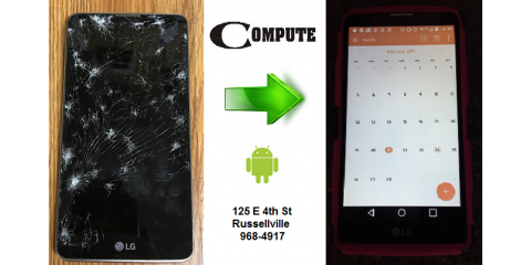 We Fix Android Phones, Russellville, Arkansas