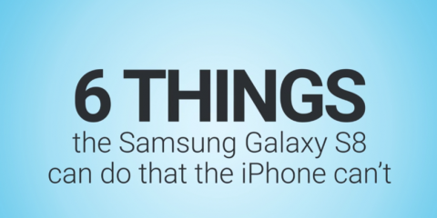 6 things the Samsung Galaxy S8 can do that the iPhone can't. http://ow.ly/jpV430aoQ2F, Washington, Ohio