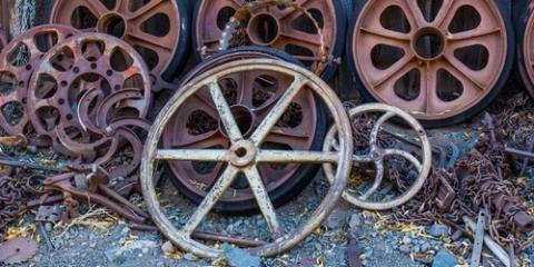 How to Repurpose Metal Salvage, San Marcos, Texas