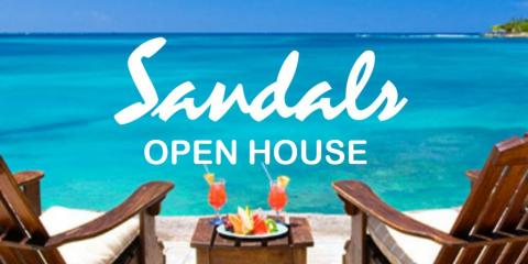 Sandals Open House at Party Pleasers Services, Reading, Ohio
