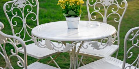 Why Sandblasting Is a Good First Step to Refinishing Old Metal Furniture, Maui County, Hawaii