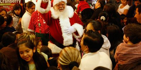 Santa Has Arrived at The Mall At Bay Plaza!, Bronx, New York