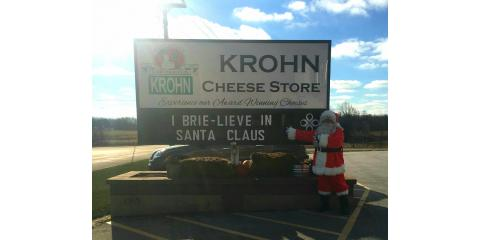 Do you know where Santa gets his cheese?, Luxemburg, Wisconsin