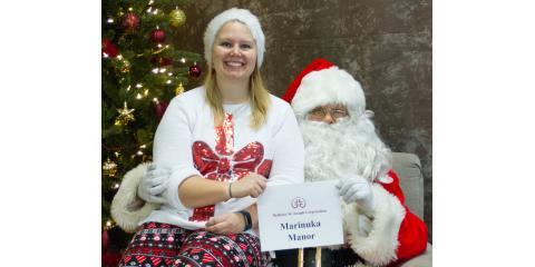 'Smiles With Santa' Event at Marinuka Manor Dec 1, La Crosse, Wisconsin