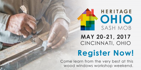 Don't Miss Heritage Ohio's Sash Mob Windows Workshop Weekend!, Cincinnati, Ohio
