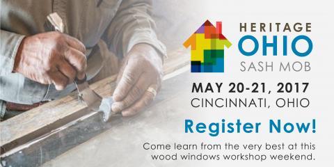 Don't Miss Heritage Ohio's Sash Mob Windows Workshop Weekend!, Columbus, Ohio