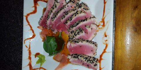 Thursday Night Special - Shrimp Scampi over Linguine, Bon Secour, Alabama