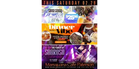 SABROSO SATURDAY- MAMAJUANA CAFE PATERSON, Paterson, New Jersey