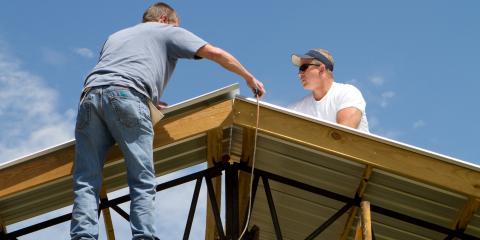 3 Benefits of Metal Roofing, Savannah, Tennessee