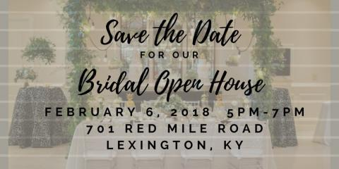 Bridal Open House, Lexington-Fayette, Kentucky