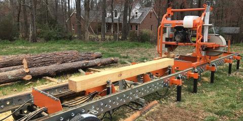 Your New Firewood & Lumber Source: H & H Tree Service's Sawmill , New London, North Carolina