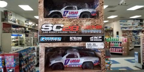 1:28 Scale - Team Associated SC28 Short Course Truck is in!, Tampa, Florida