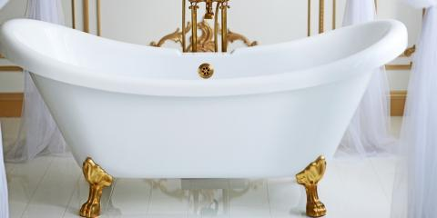 3 Benefits of Choosing a Clawfoot Tub, Ingram, Texas