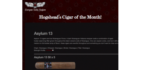 HogsheadCL Cigar of the Month, Courtland, Virginia