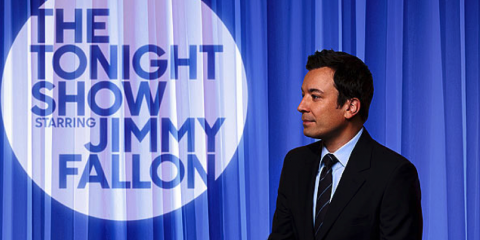 Fallon Surprises Tonight Show Viewers, Manhattan, New York