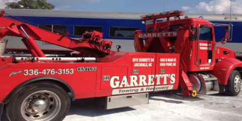 Stuck in the Snow? Garrett's Towing & Recovery Offers 24-Hour Roadside Assistance, Thomasville, North Carolina