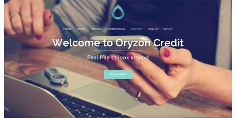 Oryzon Credit, LLC, Credit Repair, Finance, San Diego, California
