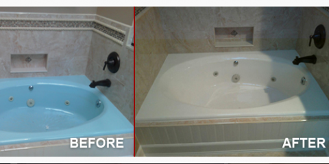 Bathtub Looking Crummy Tub Repair Services Can Fix Cracks Stains - Bathroom repair services