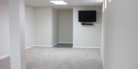A Home Contractor Gives 5 Reasons to Finish Your Basement , Maryland Heights, Missouri