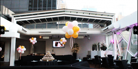 Throw Your Private Party at The Copacabana Times Square's Rooftop Bar, Manhattan, New York
