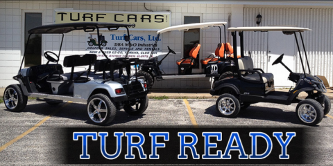 Turf Cars Explains the Requirements for a Street-Legal Golf Cart, Council Bluffs, Iowa