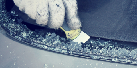 how to get stone scuffs off your windshield