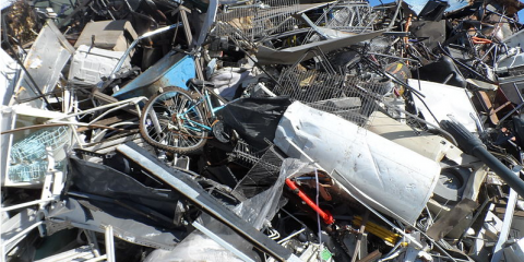 Don't Let Your Scrap Metal Sit Around—Use it to Make Money Instead, Rochester, New York