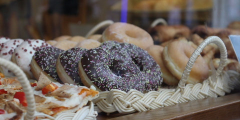 The Fascinating Process of Making Donuts, Monroe, Louisiana