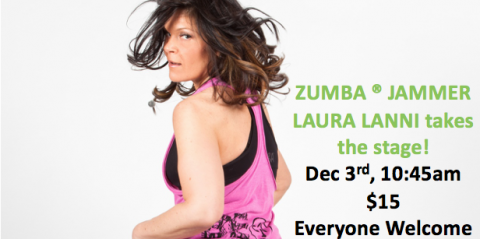 ZUMBA MASTERCLASS: Laura Lanni takes dance fitness to new heights in NH!, Manchester, New Hampshire