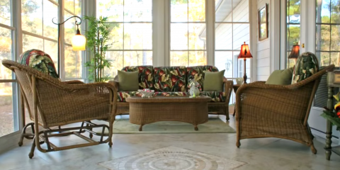 3 Tips On How to Make Your Screened Porch Winter-Friendly , Blairsville, Georgia