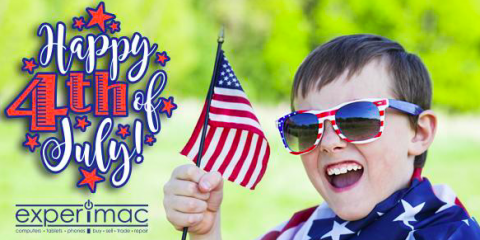Happy 4th of July from your Local Experimac of Greenville!, Greenville, North Carolina