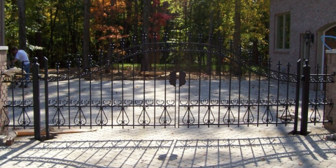 Steel vs. Wrought Iron Fencing: What's the Difference?, Covington, Kentucky