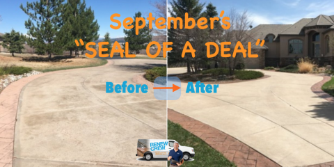 """September's """"Seal of a Deal"""", Castle Rock, Colorado"""