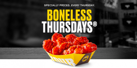THE GREATEST DAY OF ALL TIME - BONELESS THURSDAYS, North Haven, Connecticut