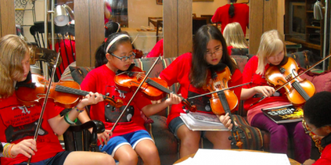 Music Education Brings Purpose & Meaning to Kids' Lives, Clarksville, Maryland