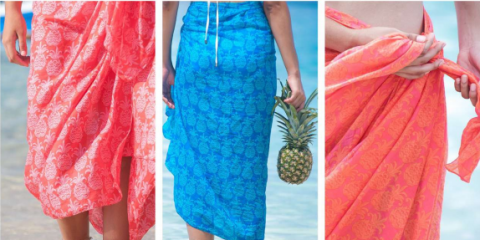 4 Ways To Wear A Sarong, Honolulu, Hawaii